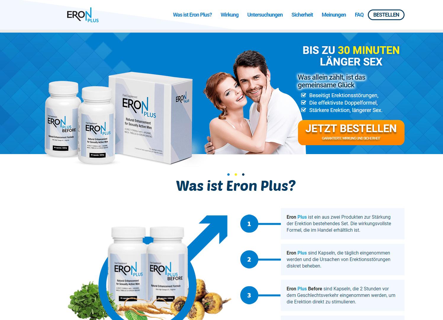 ERON PLUS Website